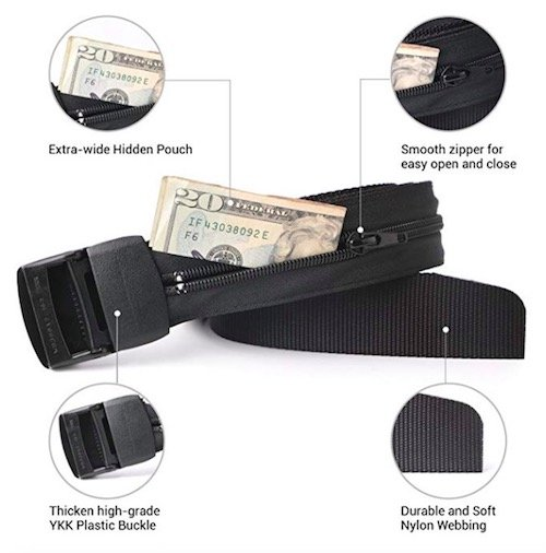 JASGOOD Travel Security Money Belt Review 2