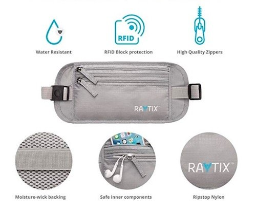 raytix money belt review