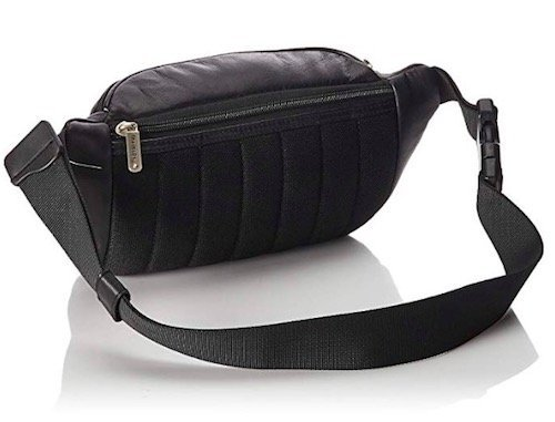 travelon leather waist pack fanny pack review 2