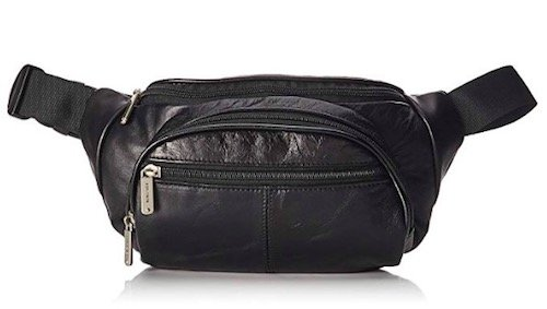 travelon leather waist pack fanny pack review