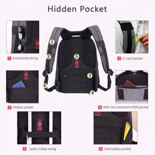 03-2 KOPACK Backpack hidden pocket locations
