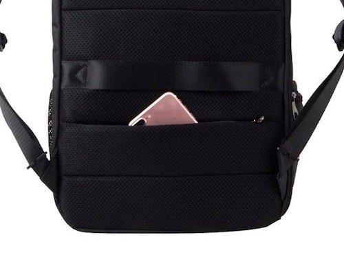 KOPACK Business Backpack hidden back panel pocket