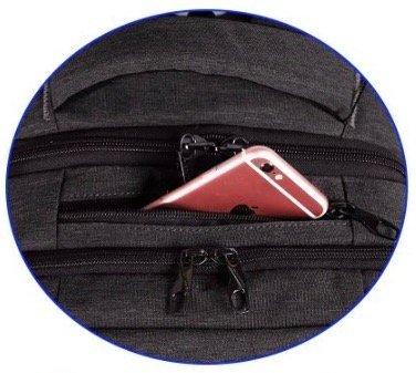 KUPRINE Business Backpack top pocket