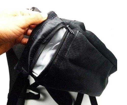 SMOKEYZ backpack Secret Stash Side Pocket review 2