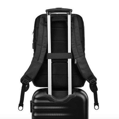 KOPACK TSA-Friendly Travel laptop backpack with luggage strap
