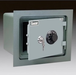 Gardall WMS912-G-K Fireproof Wall Safe (with flange)